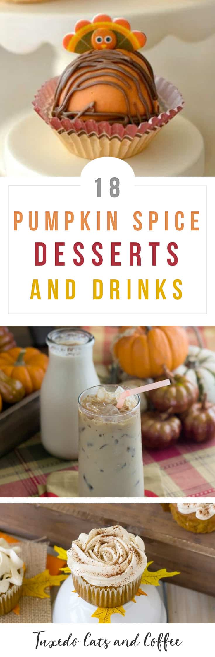 Fall is one of my favorite seasons - the leaves change colors, the weather cools down, boots and sweaters come out, and of course, there's pumpkin spice everything! In this post I've rounded up 18 pumpkin spice recipes for fall that will have you warmed up and cozy by the fire with your pumpkin spice latte - or other treat - in hand. :)