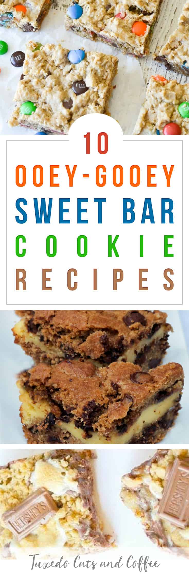 Looking for a delicious cookie recipe for your sweet tooth? Here are 10 ooey-gooey sweet bar cookie recipes for the Cookie Monster in you!