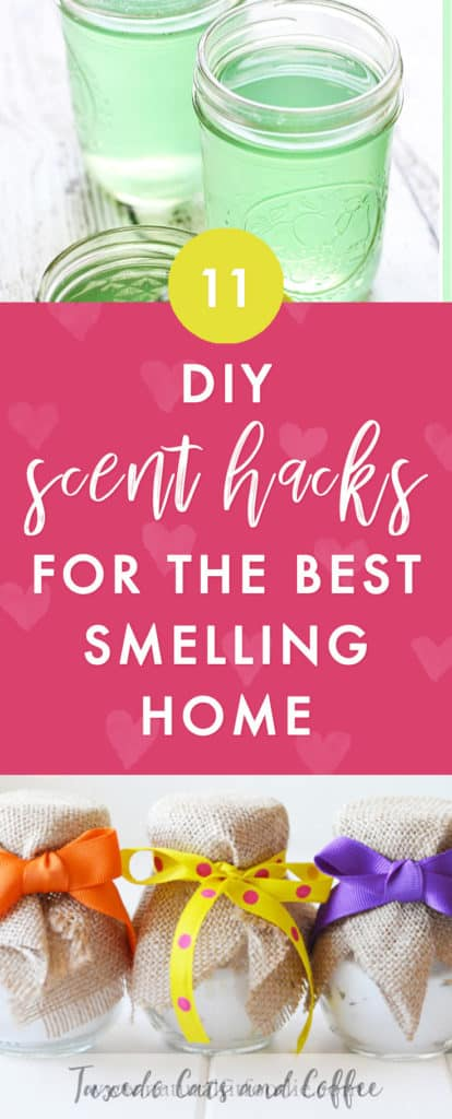 Want to make your home smell fresher, cozier, prettier, or just better? Here are 11 DIY scent hacks and homemade air freshener ideas to make your home smell amazing.