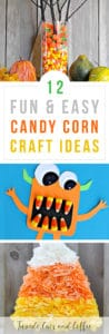 12 Fun Candy Corn Craft Ideas