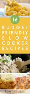 16 Cheap & Easy Slow Cooker Recipes