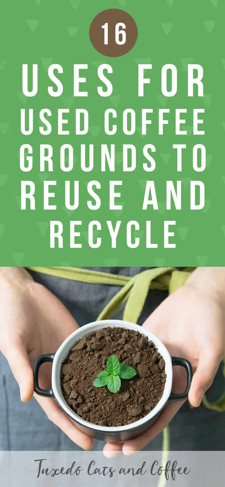 Wondering if there's a way to upcycle your used coffee grounds instead of just throwing them in the trash? Here are 16 uses for used coffee grounds to reuse and recycle!