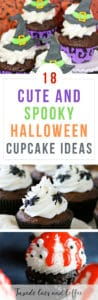 18 Cute and Spooky Halloween Cupcake Ideas