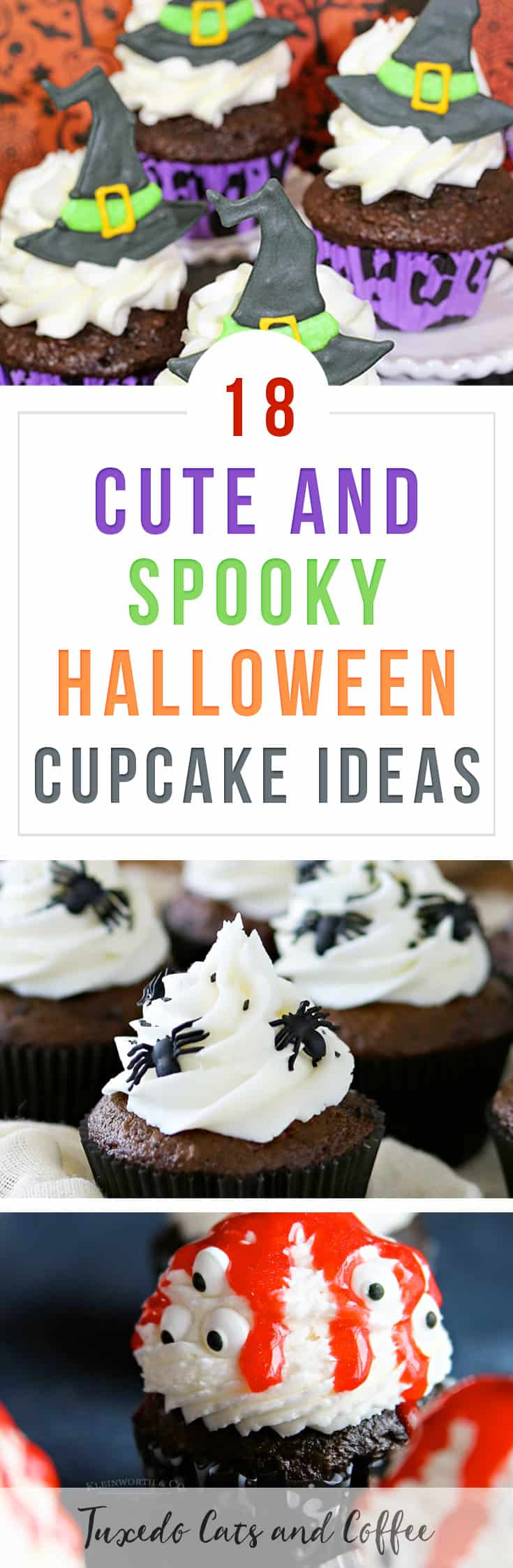 Want a fun dessert recipe for your Halloween party?  Here are 18 cute and spooky Halloween cupcake ideas that are delicious and scary!