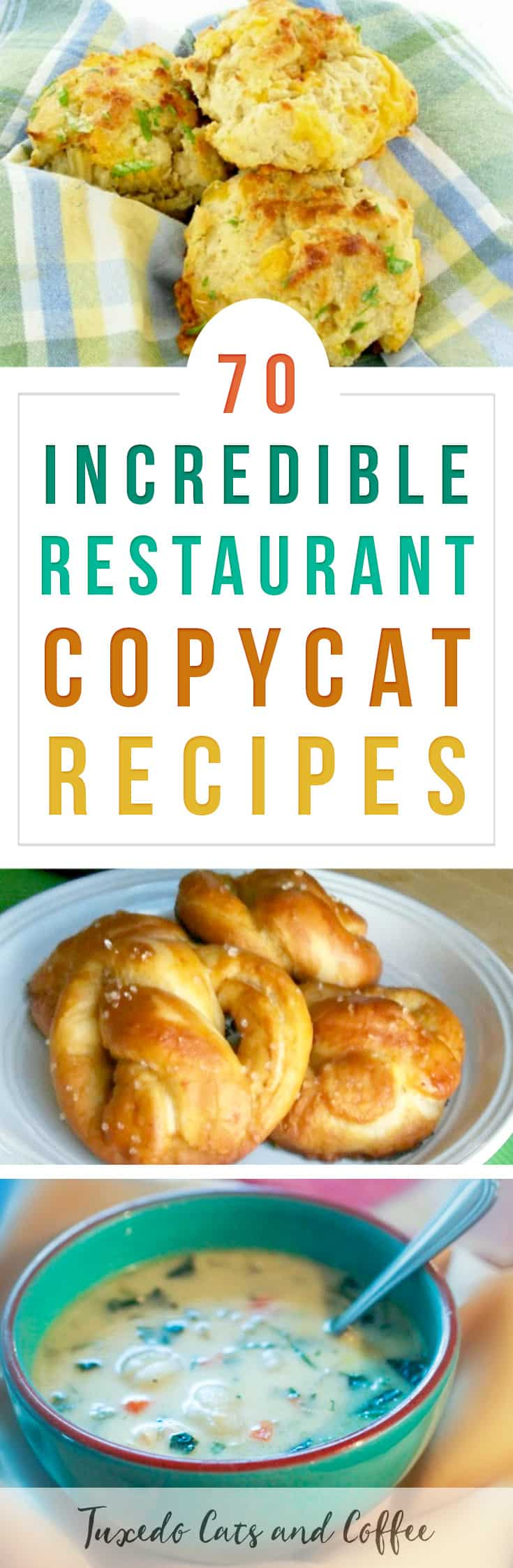 Wish you could eat at your favorite restaurants more often or make their dishes yourself? Here are more than 70 incredible restaurant copycat recipes to get the flavors of your favorite restaurants at home. #restaurantcopycat #copycatrecipe