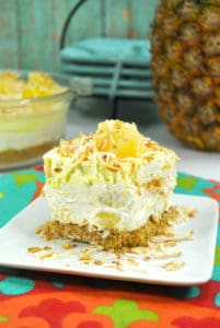 No-Bake Pineapple Cream Cheesecake