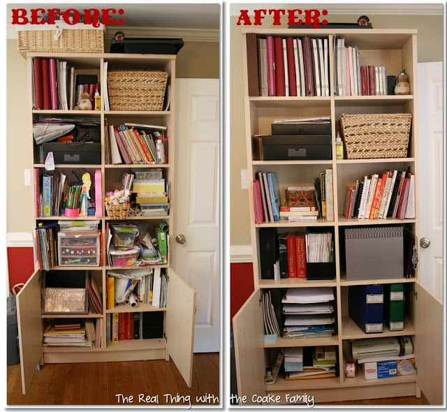 Cabinet Organizing Ideas: Crafts And Office